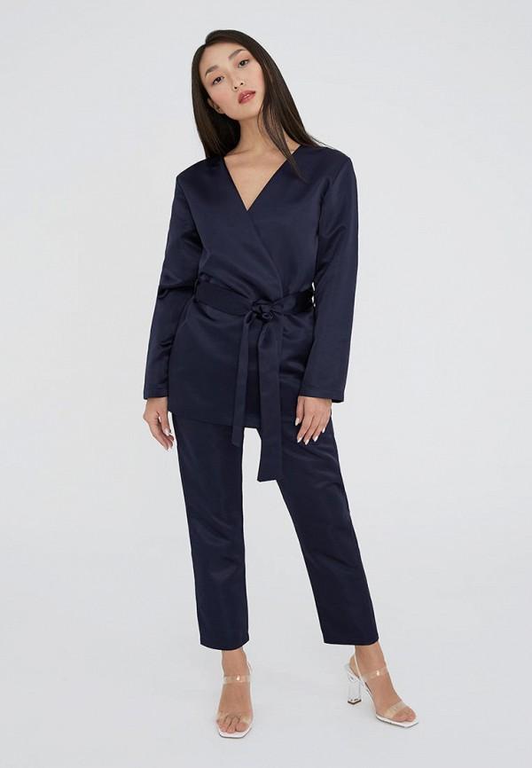 женский костюм ligio, синий