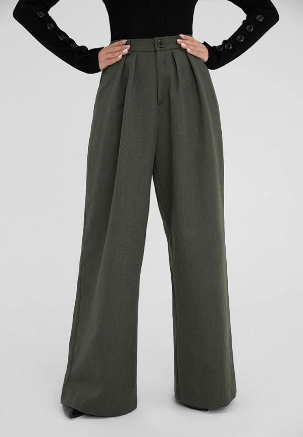 женские повседневные брюки ligio, зеленые