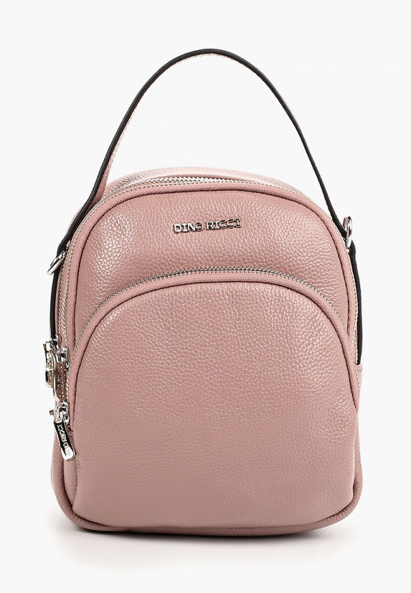 женский рюкзак dino ricci, розовый
