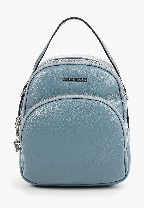 женский рюкзак dino ricci, голубой
