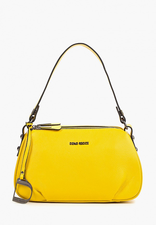 женская сумка dino ricci, желтая