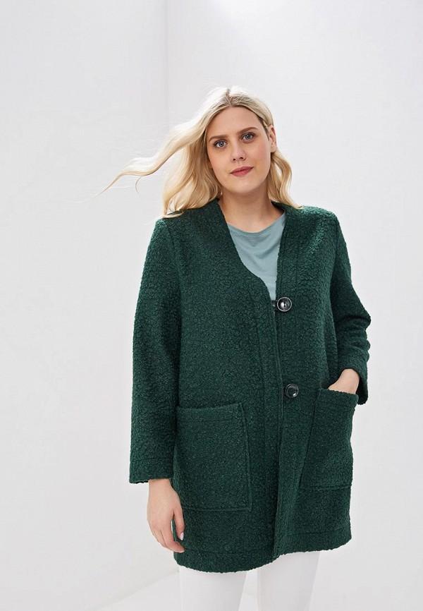 женское пальто lavira, зеленое