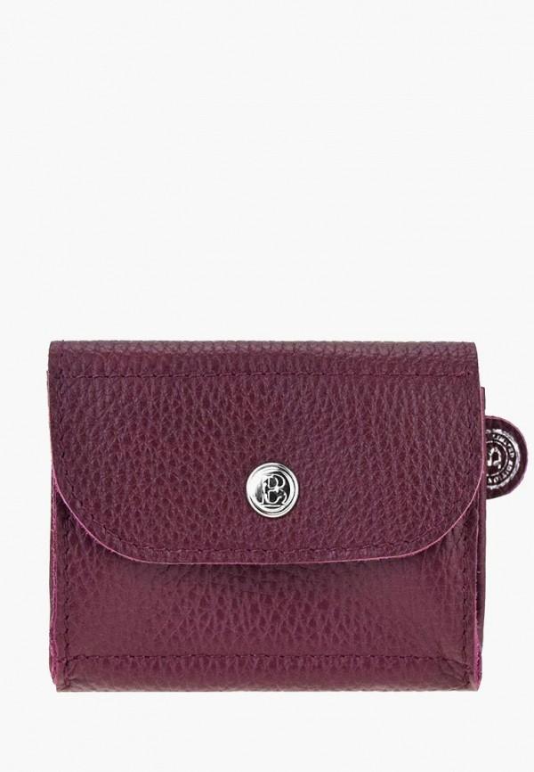 Купить Женский кошелек или портмоне BB1 бордового цвета