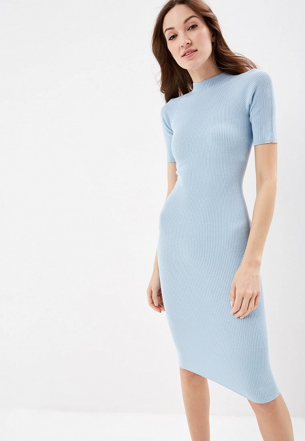 женское повседневные платье marytes, голубое