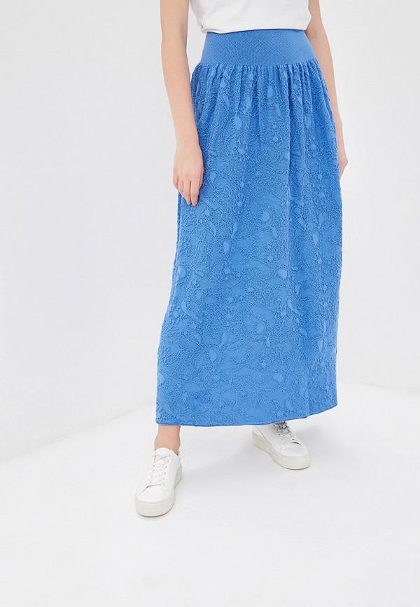 женская юбка marytes, голубая