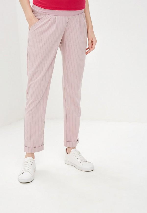 женские повседневные брюки мамуля красотуля ..в ожидании чуда, розовые