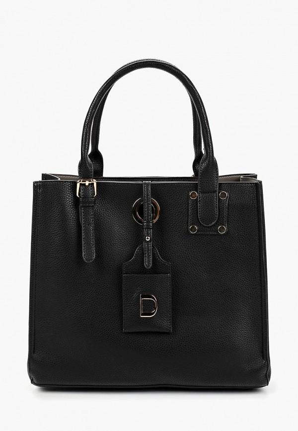женская сумка dino ricci, черная