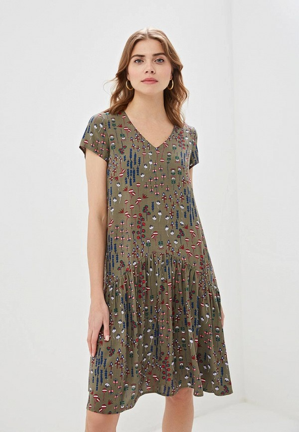 Фото - Женское платье Argent цвета хаки