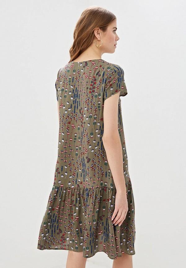 Фото 3 - Женское платье Argent цвета хаки