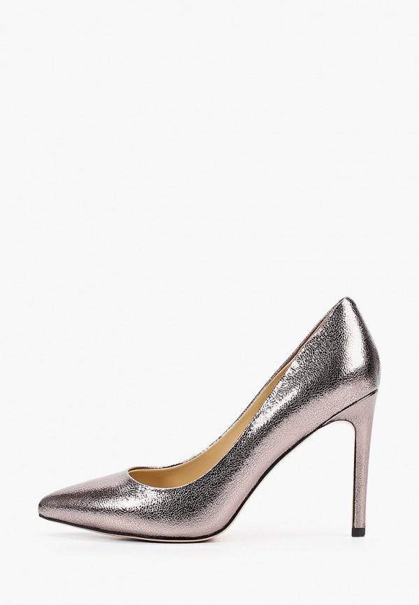 женские туфли-лодочки dolce vita, серебряные