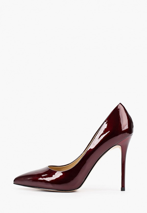женские туфли-лодочки dolce vita, бордовые