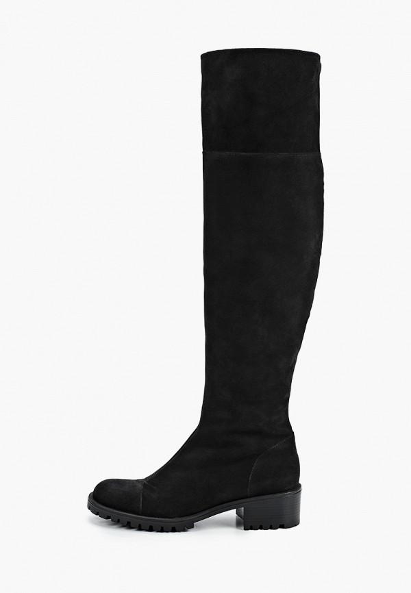 женские ботфорты giotto, черные