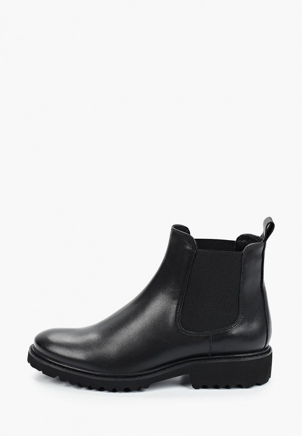 женские ботинки-челси giotto, черные