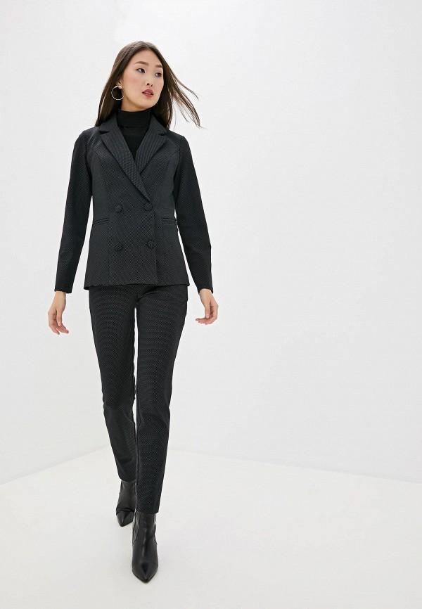 женский костюм avemod, черный