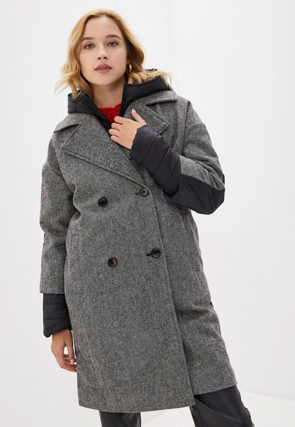женское пальто tom farr, серое