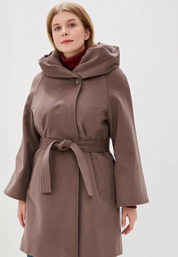 женское пальто grafinia, коричневое