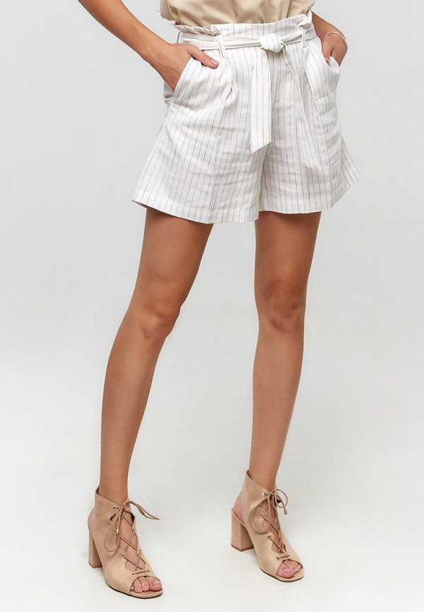женские повседневные шорты ora, белые