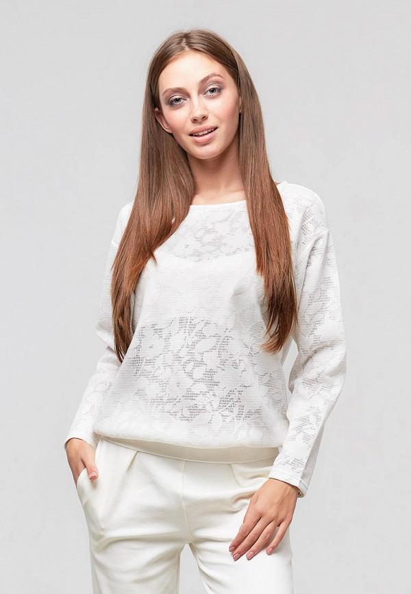 женский свитшот ora, белый