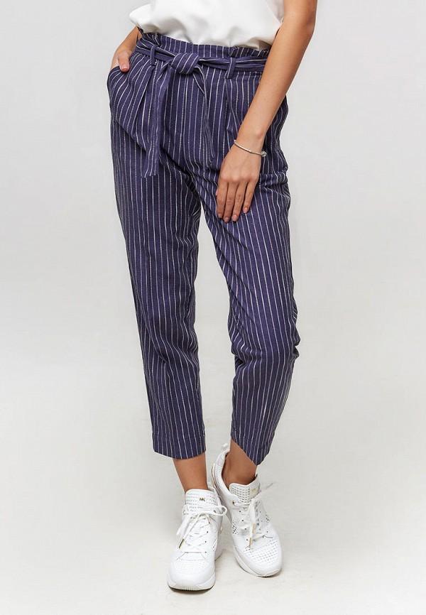 женские повседневные брюки ora, синие