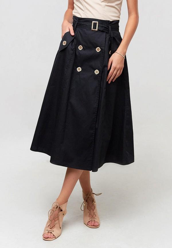 женская юбка ora, черная