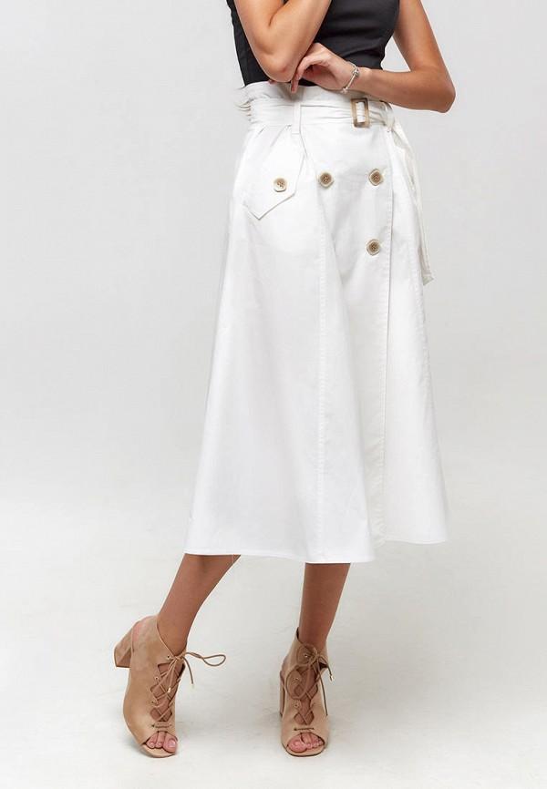 женская юбка ora, белая