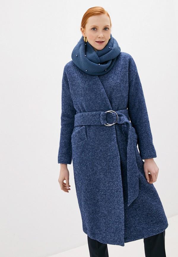 женское пальто acasta, синее