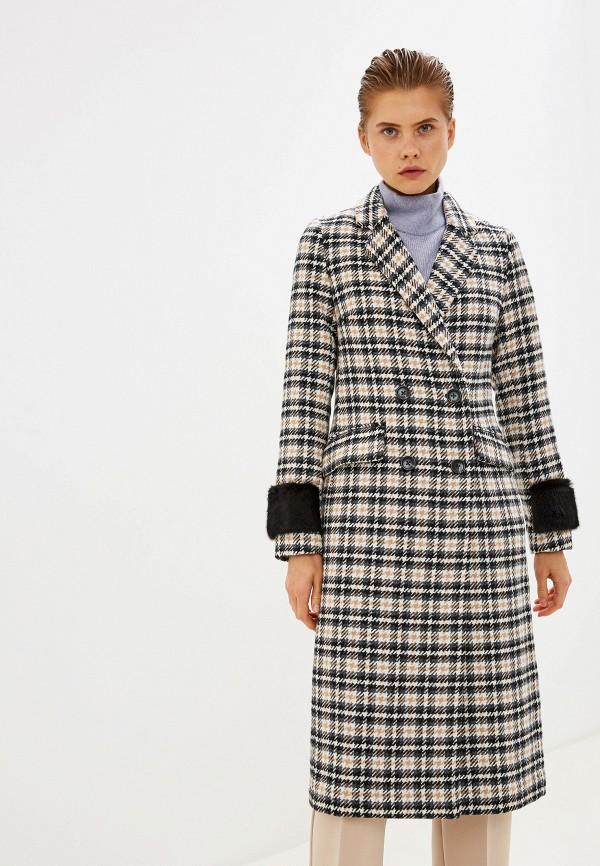 женское двубортные пальто acasta, разноцветное