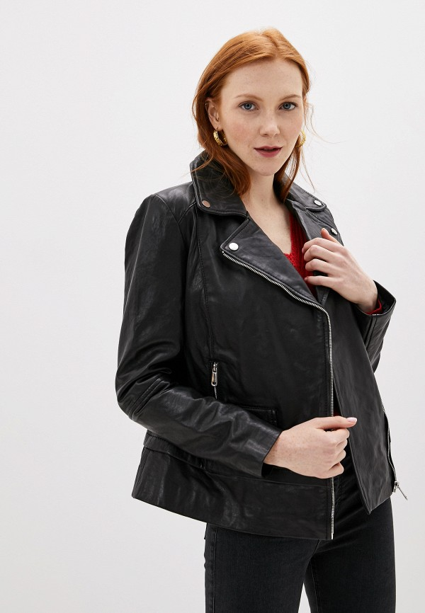 Куртка кожаная La Reine Blanche La Reine Blanche MP002XW0SMW2