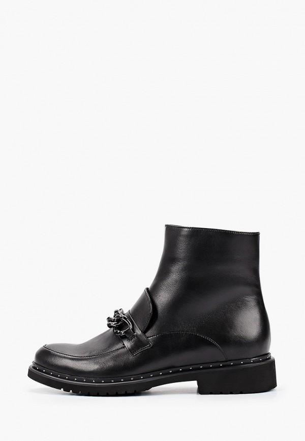 женские высокие ботинки dolce vita, черные