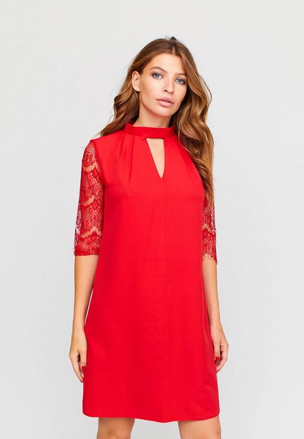 женское вечерние платье karree, красное