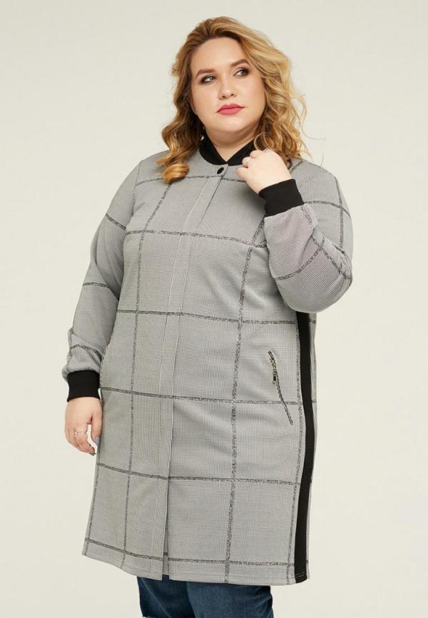 женская куртка gorda bella, серая