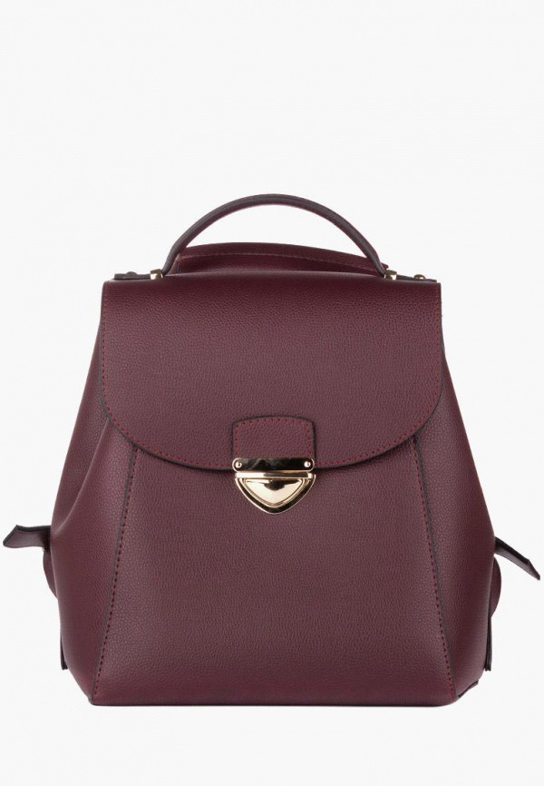 женский рюкзак vintage, бордовый