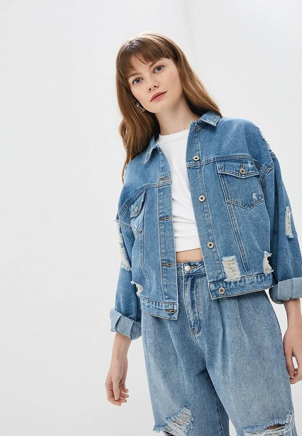 Куртка джинсовая Befree Befree MP002XW0TOHT куртка джинсовая befree befree be031emazxf3