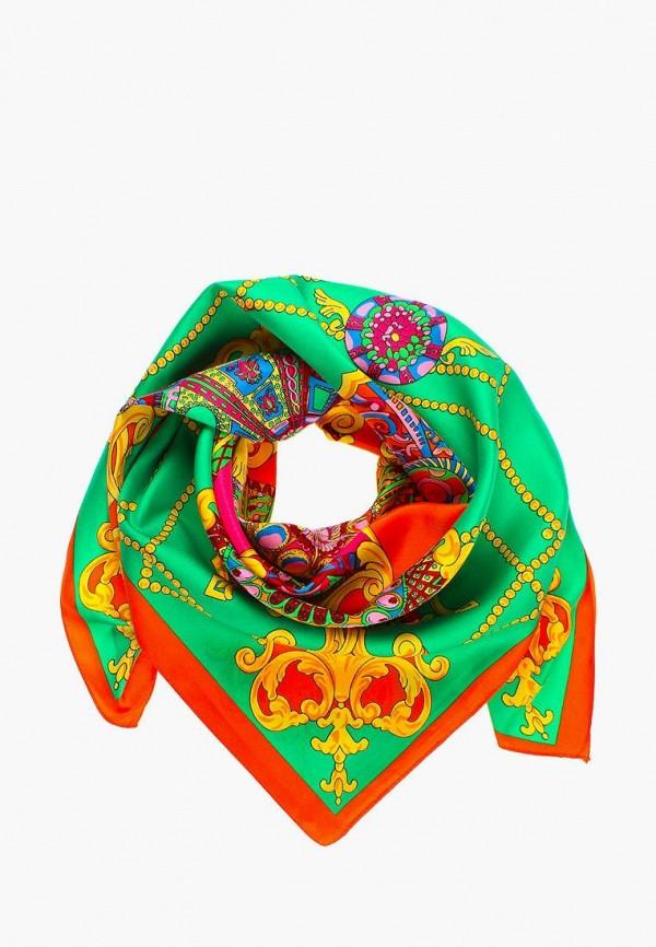 женский платок vittorio richi, зеленый