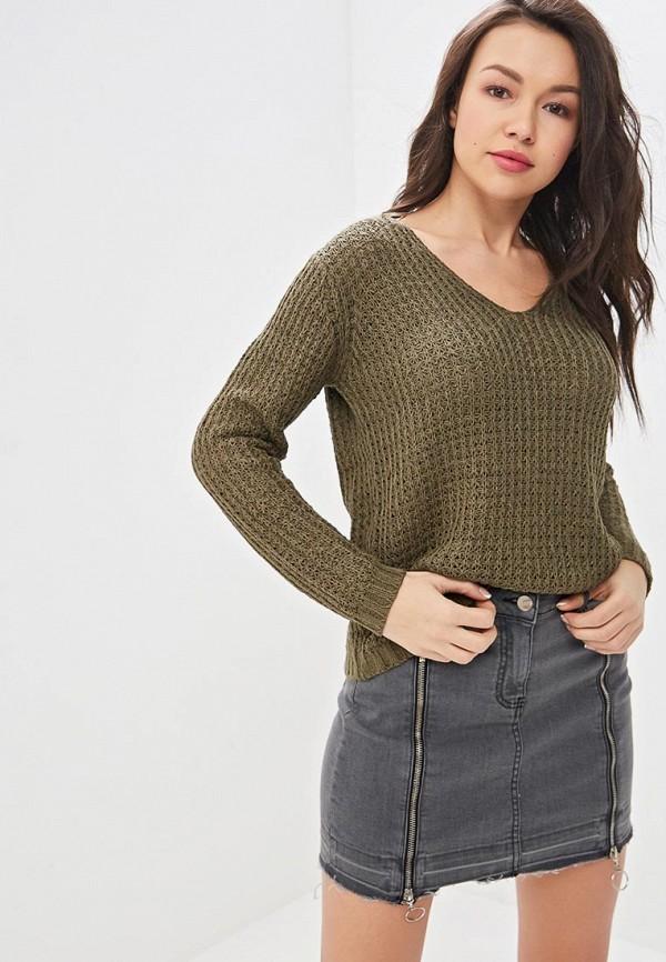 женский пуловер top secret, хаки