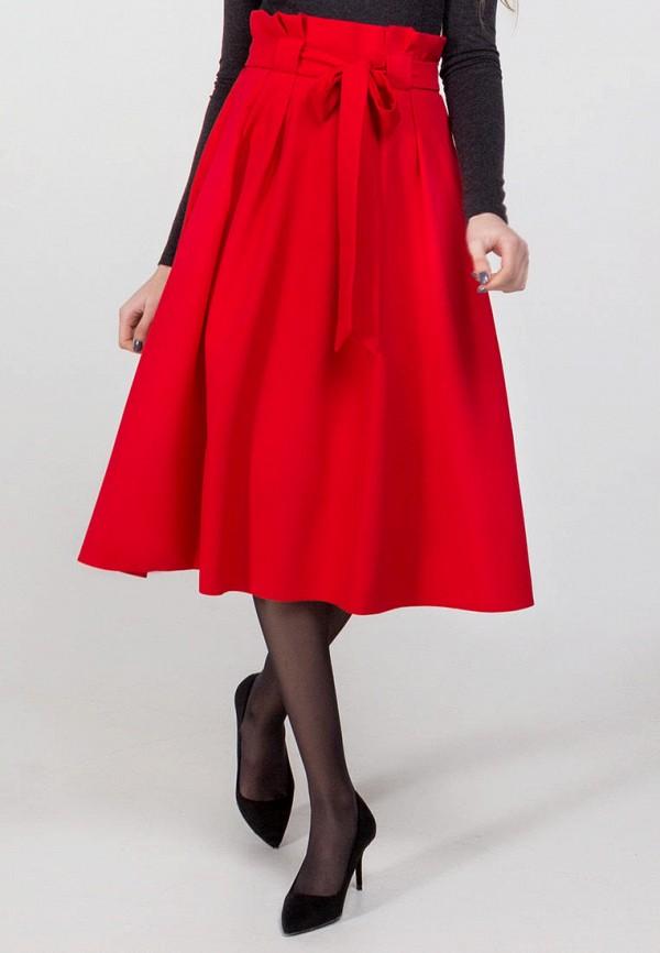 женская юбка viravi wear, красная