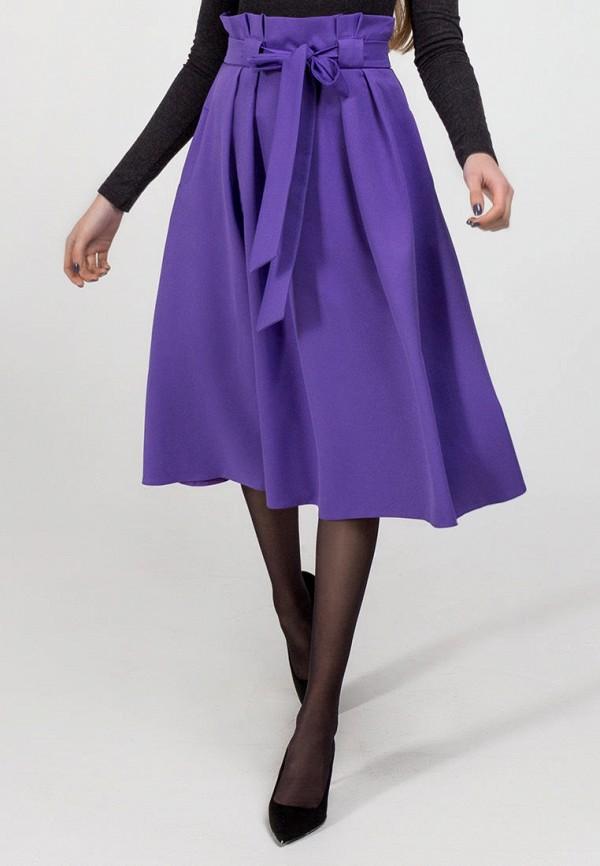 женская юбка viravi wear, фиолетовая