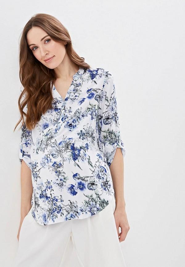 женская блузка очаровательная адель, белая