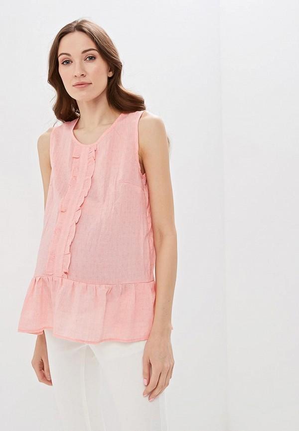 женская блузка очаровательная адель, розовая