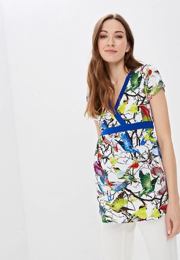 женская блузка очаровательная адель, разноцветная