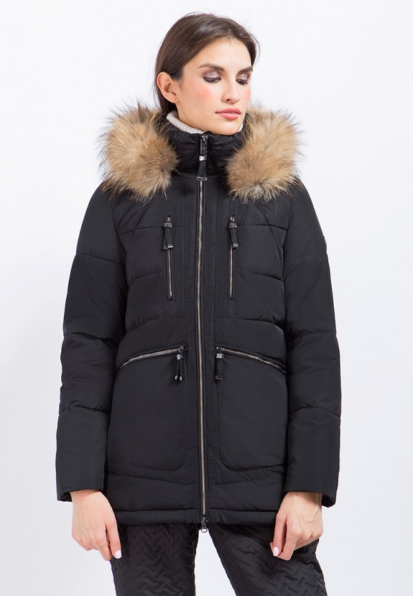 Купить Куртка утепленная Finn Flare, mp002xw0toqe, черный, Осень-зима 2017/2018