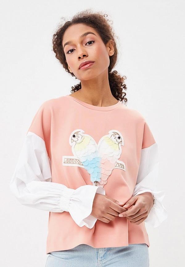 Купить Свитшот Ruxara, MP002XW0TOWG, розовый, Весна-лето 2018