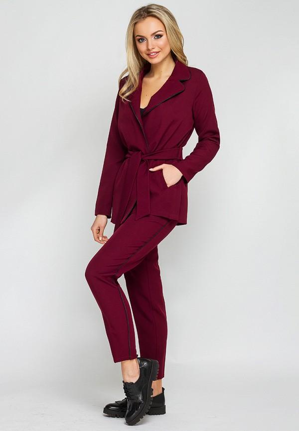 женский костюм leo pride, бордовый
