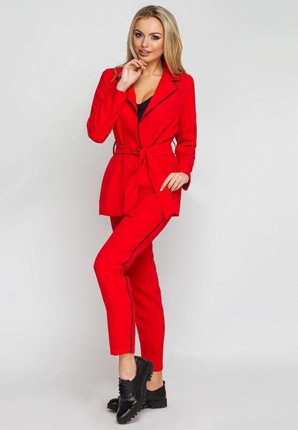 женский костюм leo pride, красный