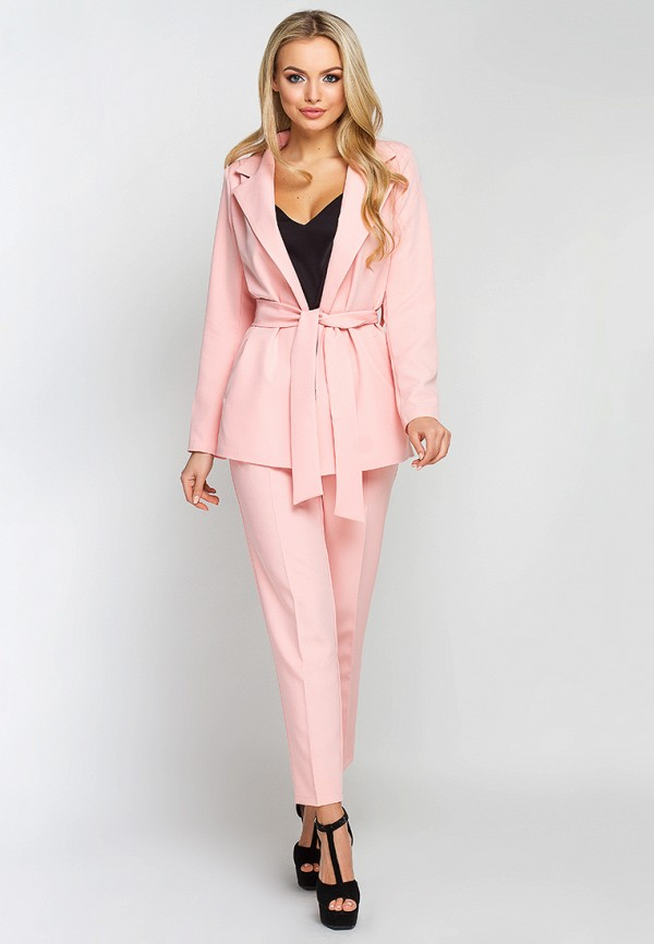 женский костюм leo pride, розовый