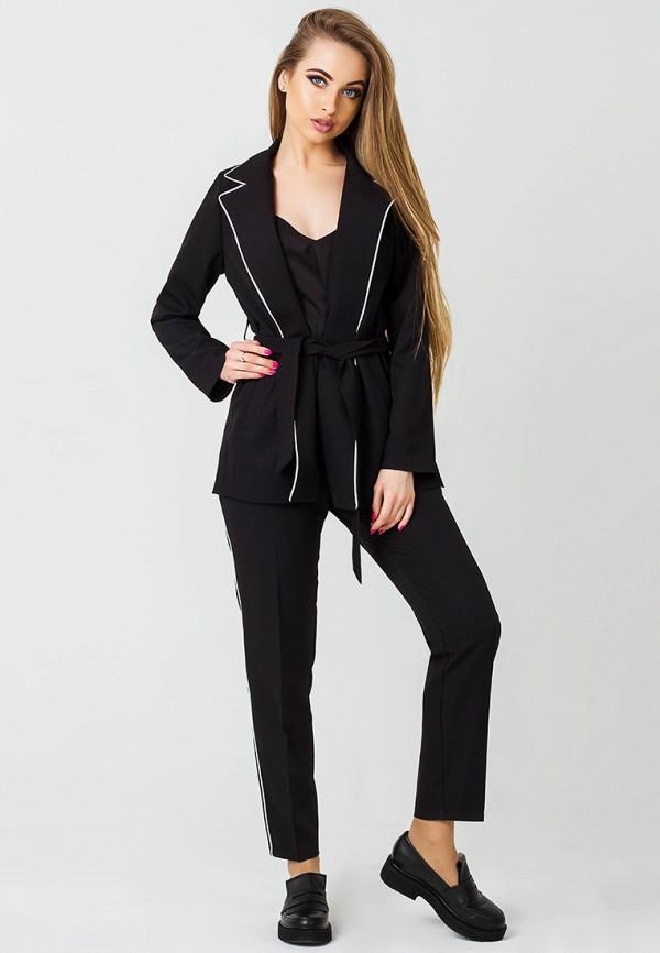 женский костюм leo pride, черный