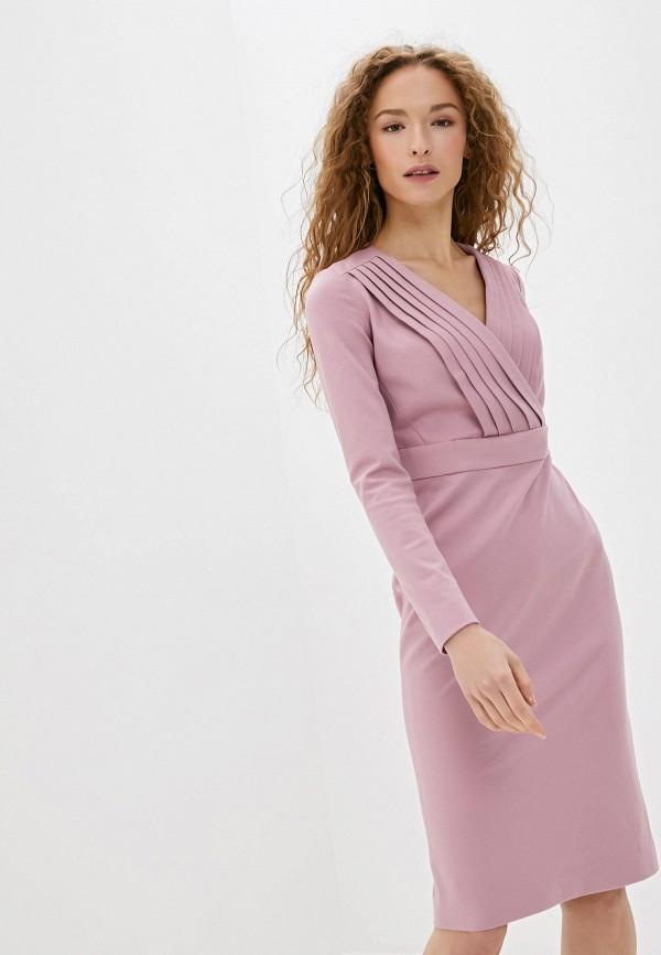 женское платье ruxara, розовое