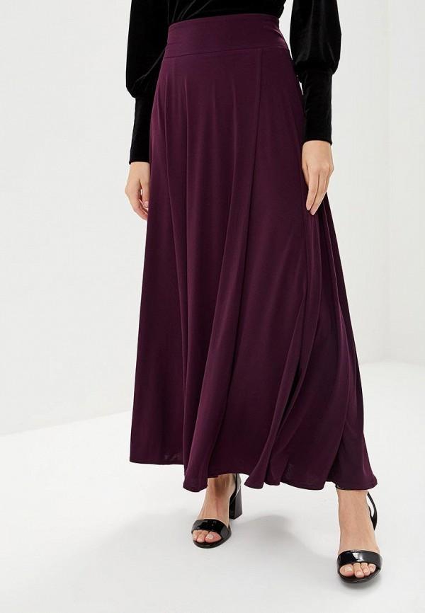 женская юбка alina assi, фиолетовая