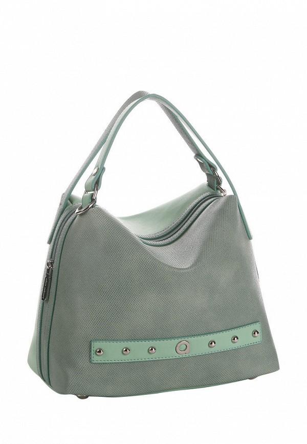 женская сумка alba soboni, зеленая