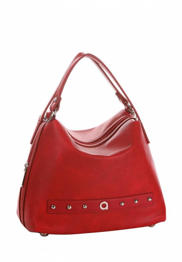 женская сумка alba soboni, красная